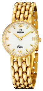 Festina (18k) kultaa, timantit 0,48 tw/w-vs